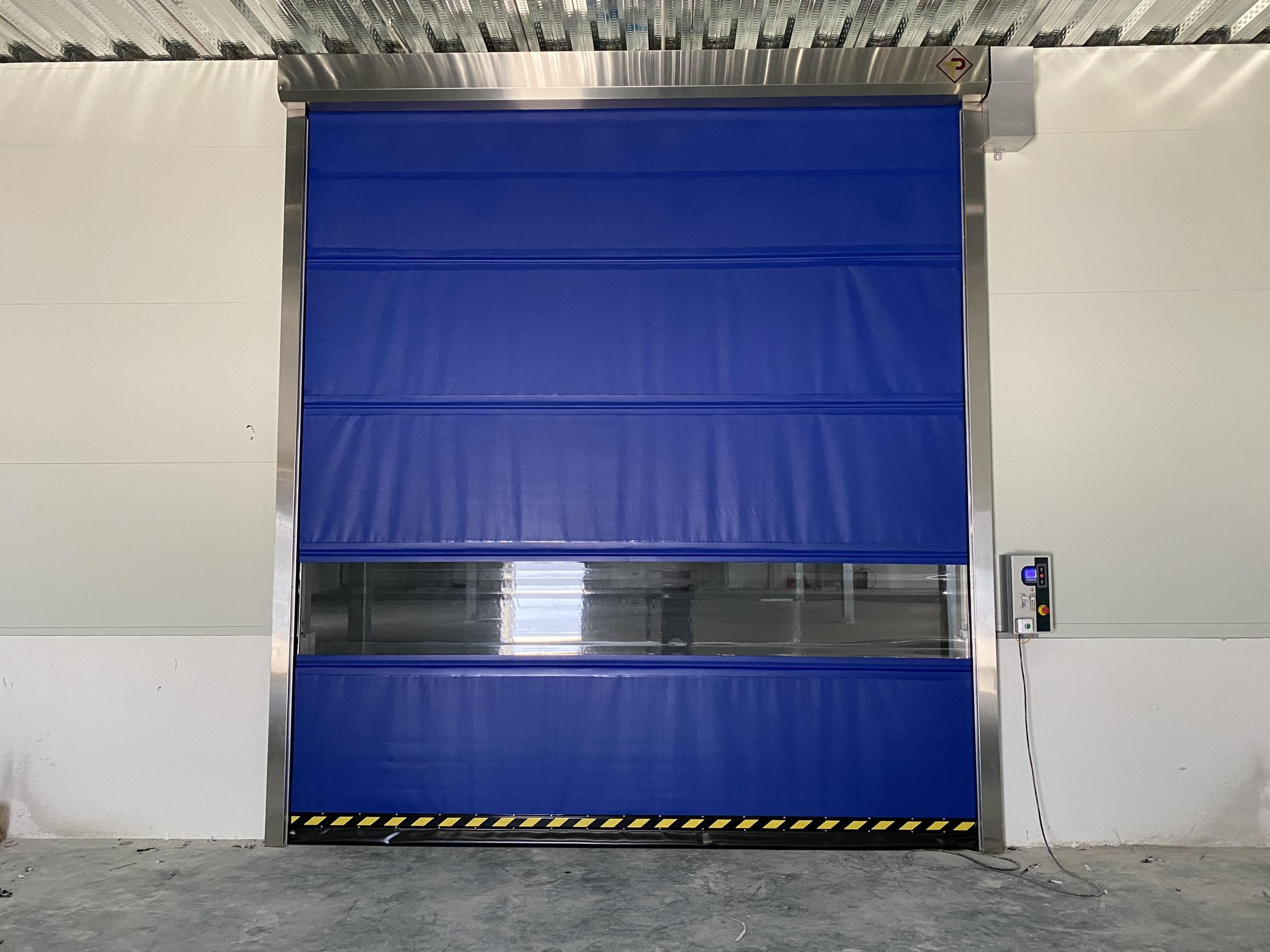 Cửa cuốn nhanh TPD 1500 lắp đặt tại Bắc Giang
