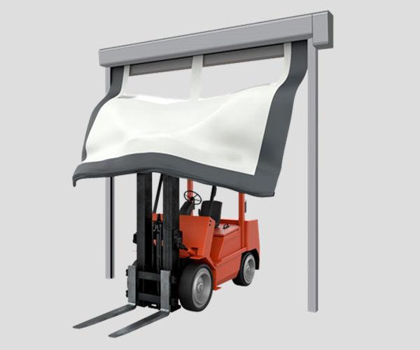 Khái niệm, đặc điểm và công dụng cửa cuốn nhanh tpd 3000