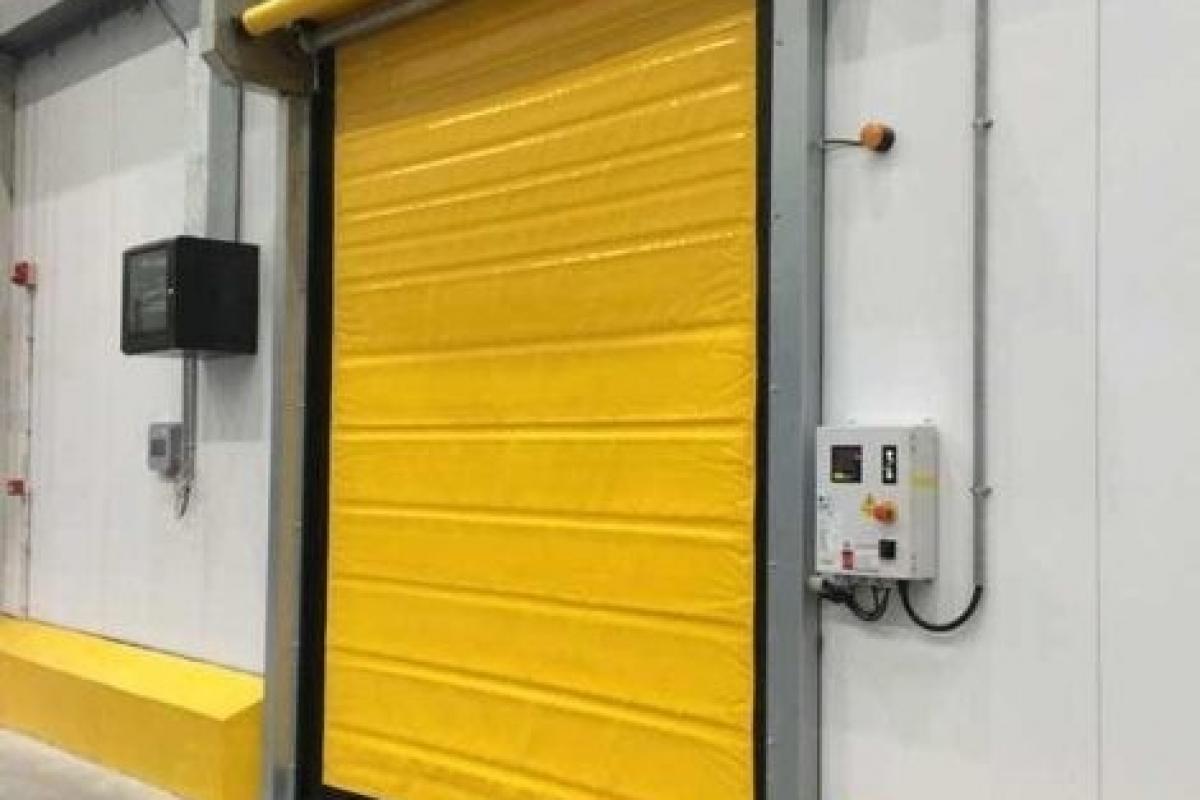 Cửa cuốn tốc độ cao và những ưu điểm của cửa