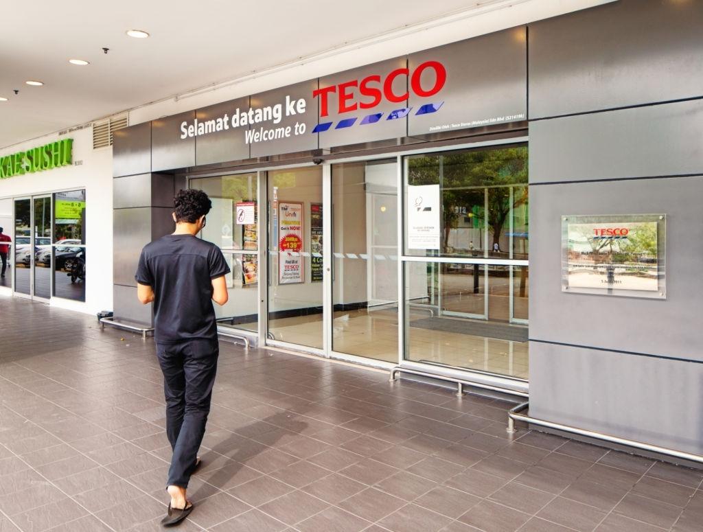 cửa tự động siêu thị